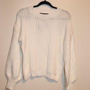 Marc New York White Sweater